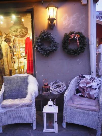 cozy details of Drøbak, the home town of Norwegian Santa Claus