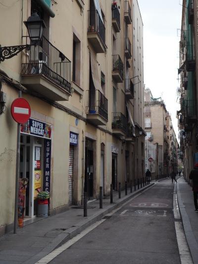 street in Raval