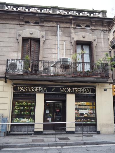 old bakery in Gracia