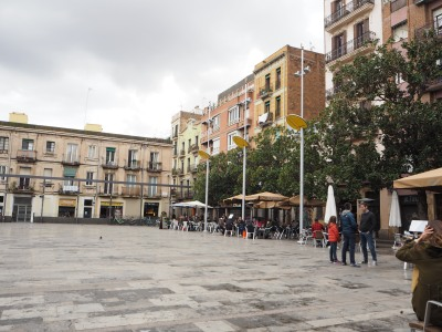 Plaza del Sol in winter