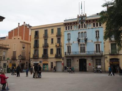 old town hall on Plaza de la Vila de Gracia