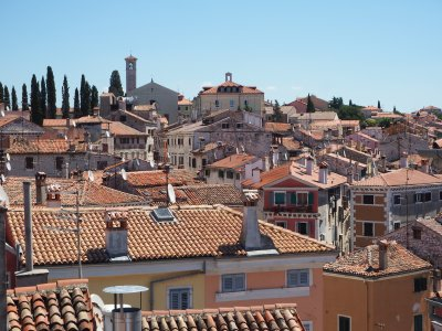 rooftops of Rovinj