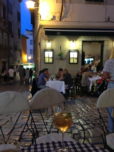 """aperitif overlooking restaurant """"Balbi"""""""