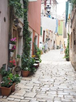 romantic streets of Rovinj