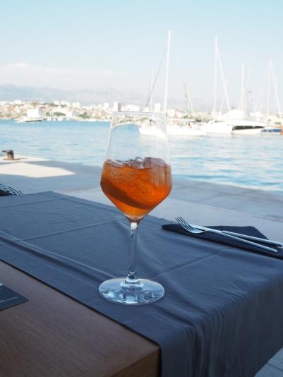 Aperol Spritz in Split marina