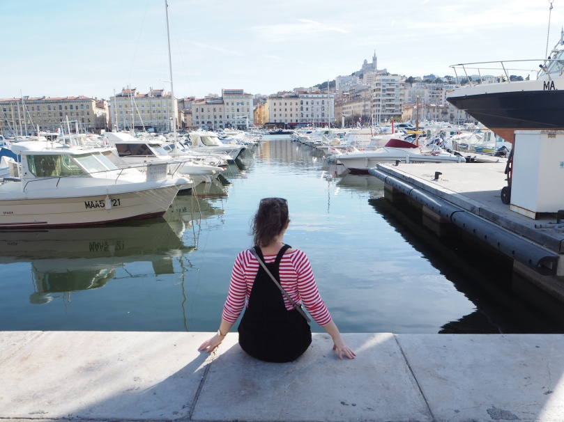 harbour in Marseille