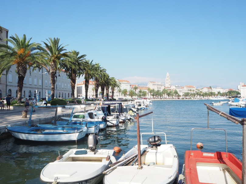 harbour, Split, Croatia