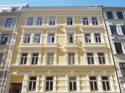 sunny facade