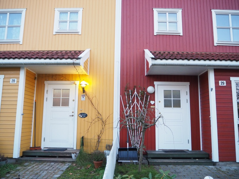 colorful houses, Oslo