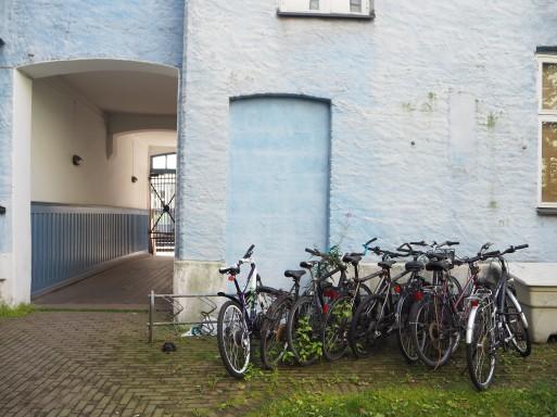summer life of bikes