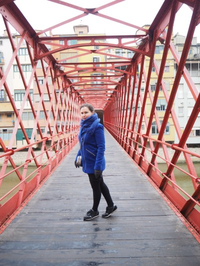 Eifell bridge in Girona