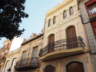 the modernist balconies