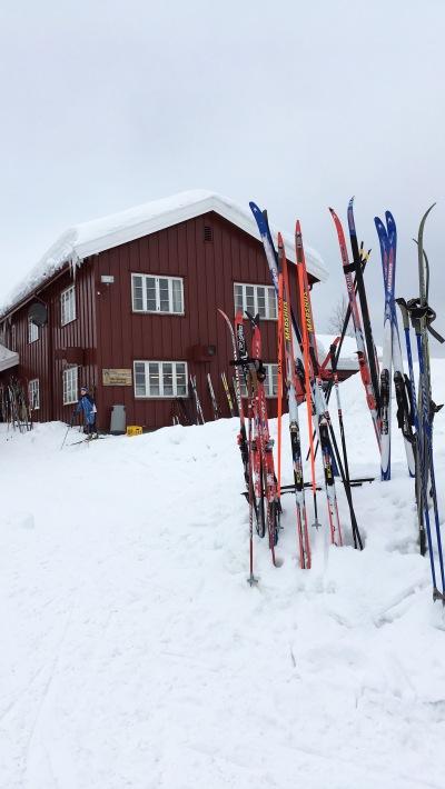 cabin at Ullevålseter