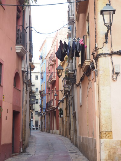 typical Mediterranean street