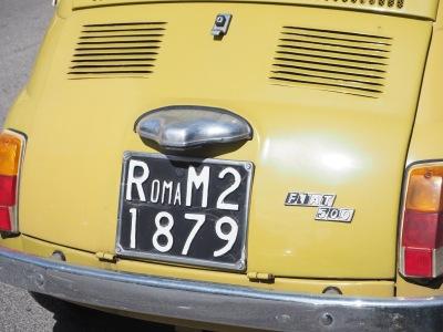 "everything says ""Roma"""