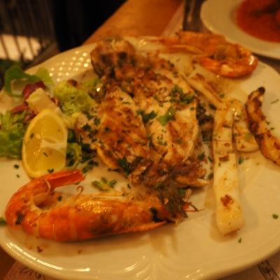 the Roman seafood