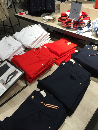 shops chose the same color scheme