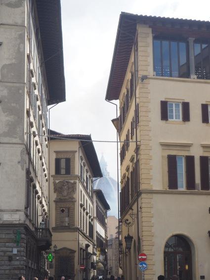 Duomo in smoke