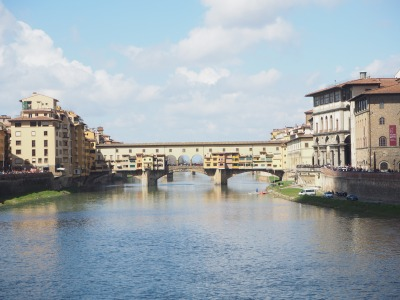 Ponte Vecchio for the distance