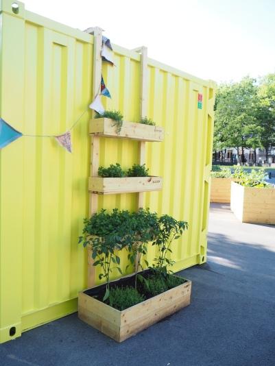 a garden station