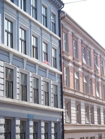 pastel facades
