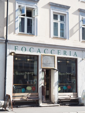 as it says, Focacceria