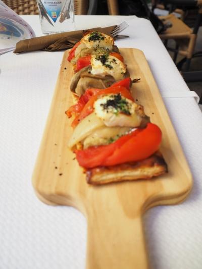 escalivada, the local vegetable mix