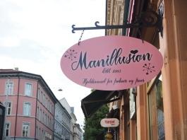 a shop sign