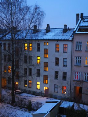 life behind the windows