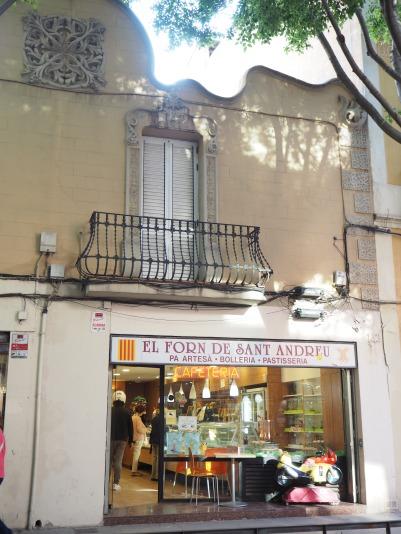 bakery of Sant Andreu