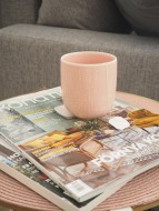 tea and magazines