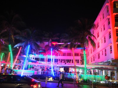 Miami Beach by night